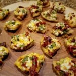 Cheddar and Sun-Dried Tomato Tidbits Served