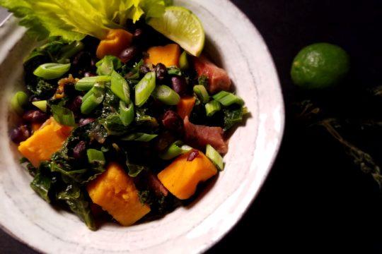 Black Bean Sweet Potato Stew