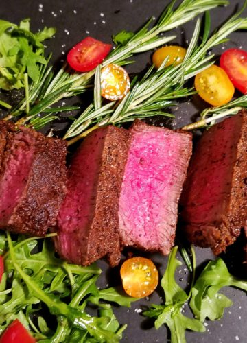 Mocha Rubbed Sirloin - Give it Some Thyme