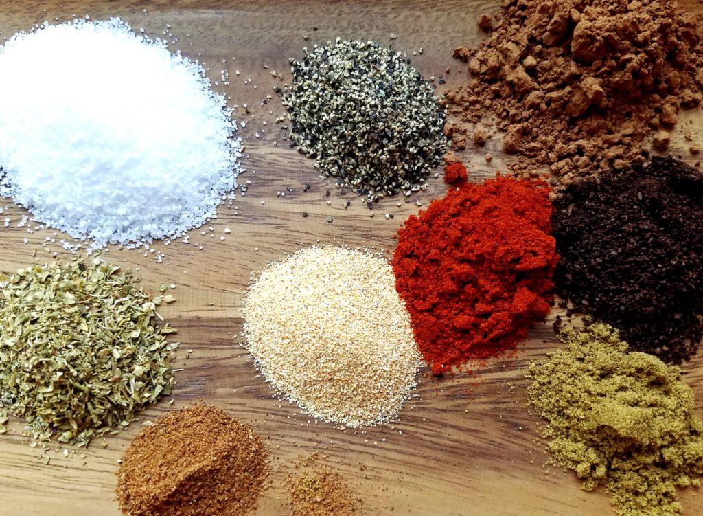 Mocha-Rubbed Sirloin Spices