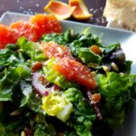 Red Leaf Salad with Cara Cara Oranges