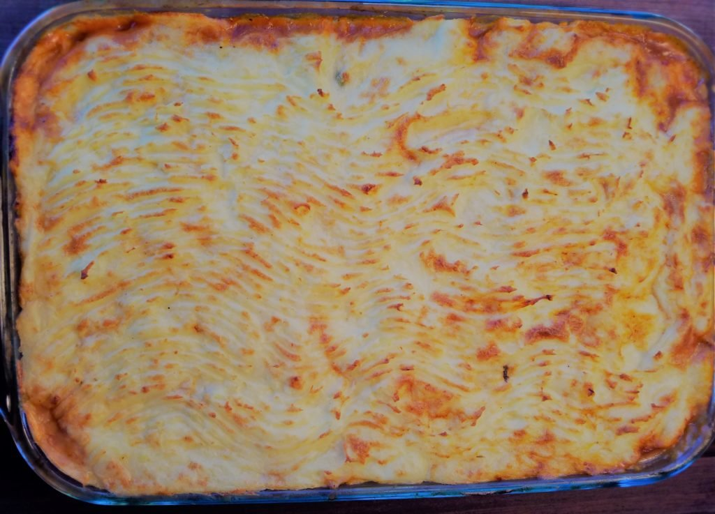 Shepherd's Pie with Lamb after Baking