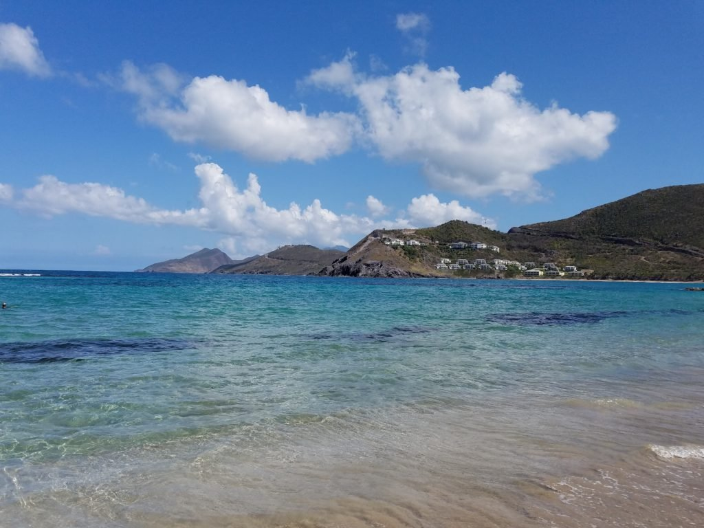 Beach View of St Kitts