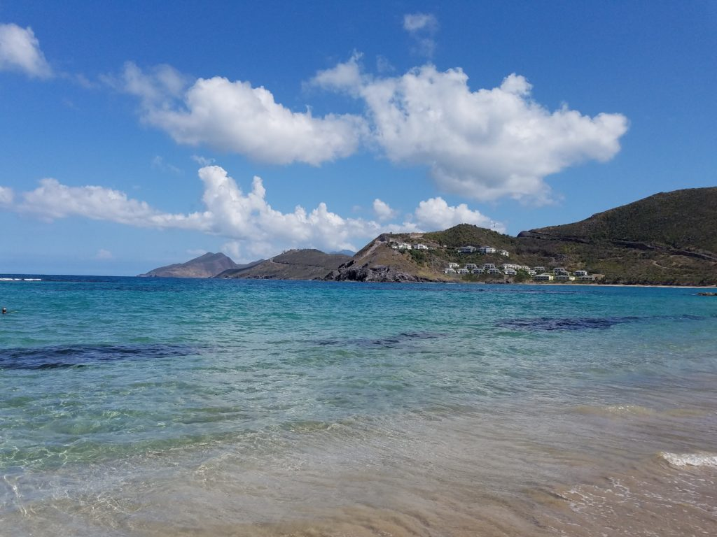 Beach View of St Kitts