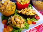 Crab and Avocado Remoulade Served