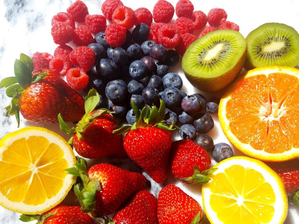 Fresh Fruit Meyer Lemon Flan Ingredients