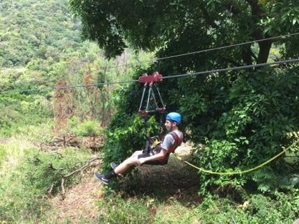 St Kitts Bryce Ziplining