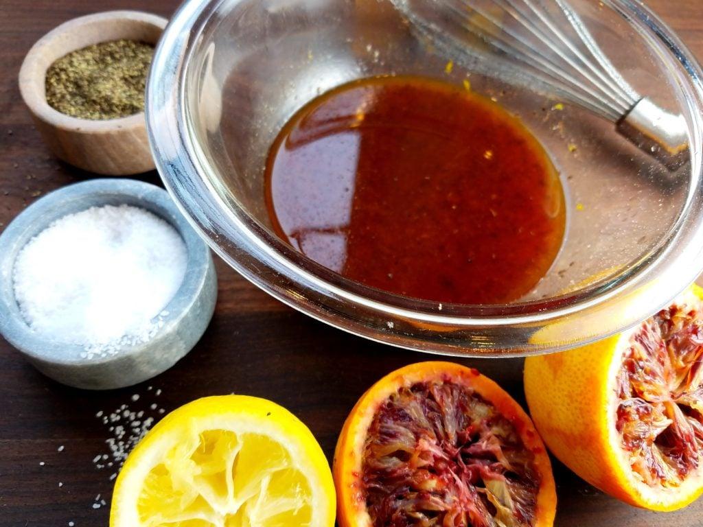 Blood Orange Vinaigrette Whisked