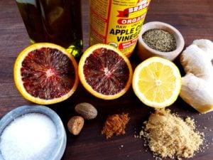 Blood Orange Vinaigrette Ingredients