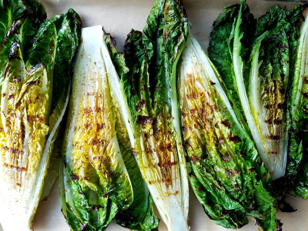 Grilled Romaine Overview
