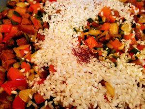 Paella Rice and Saffron