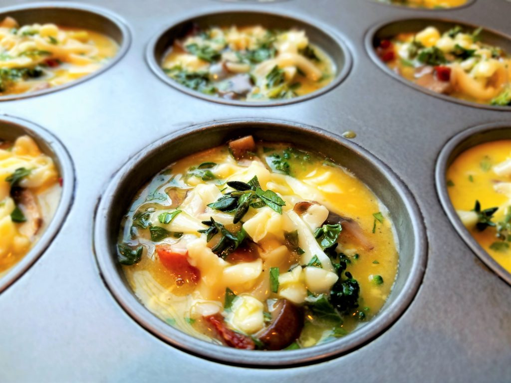 Broccoli Mushroom Frittatas recommend