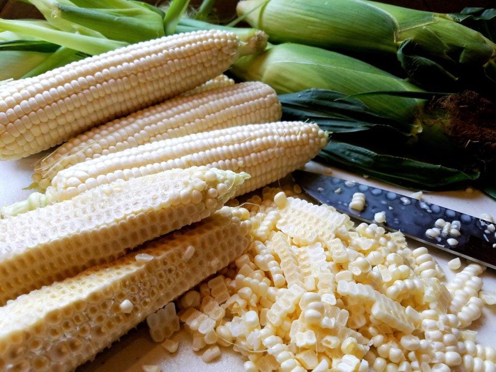 Sweet Corn Cut off Cob