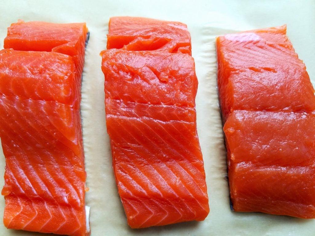 Coho Salmon Fillets