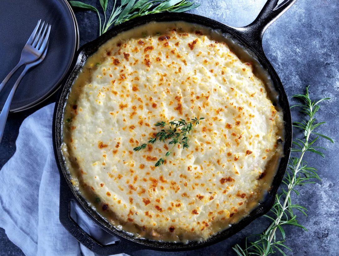 Skillet Turkey Shepherd's Pie | giveitsomethyme.com