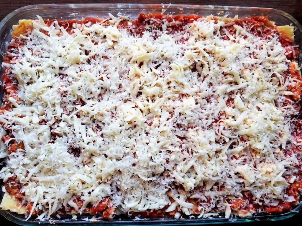 Lasagna Assembled