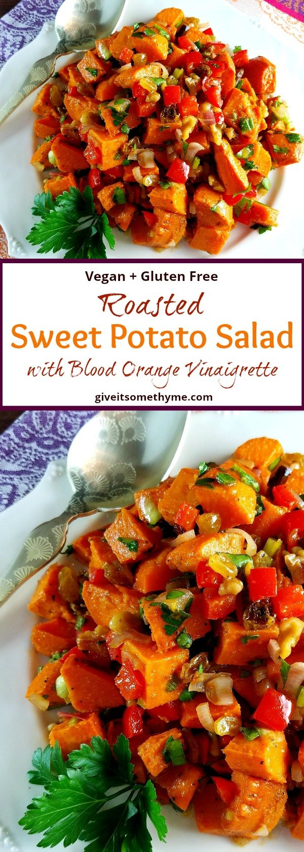 Sweet Potato Salad - Give it Some Thyme