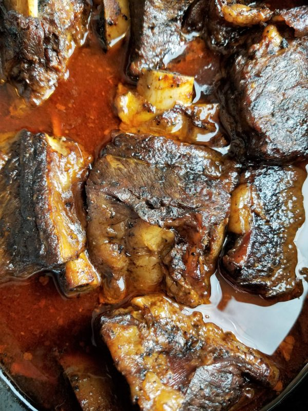 Short Ribs Done Slow Cooking