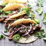 Slow Cooker Ancho Short Rib Tacos | giveitsomethyme.com