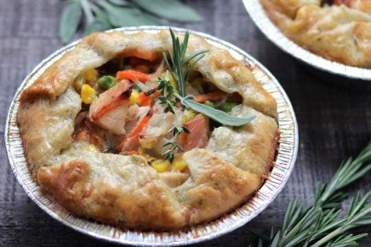 Individual Chicken Pot Pies | giveitsomethyme.com