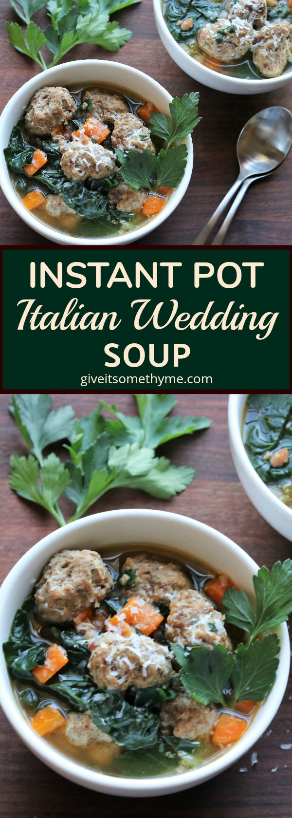 Instant Pot Italian Wedding Soup - Give it Some Thyme