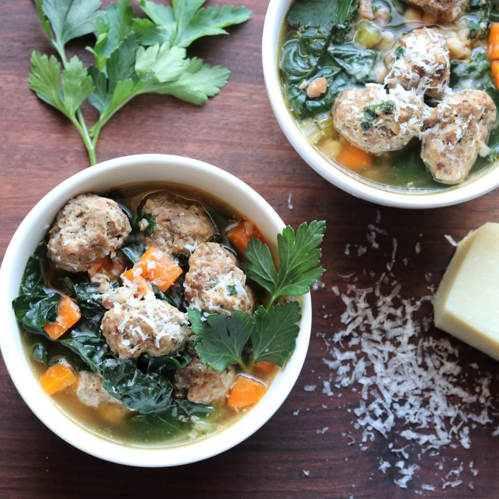 Instant Pot Italian Wedding Soup - giveitsomethyme.com