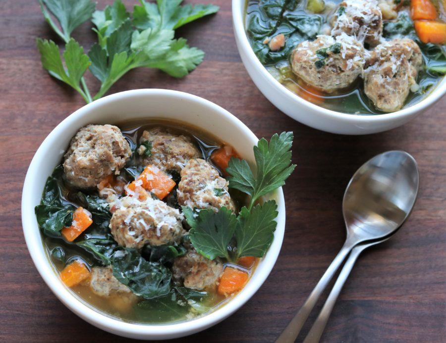 Instant Pot Italian Wedding Soup | giveitsomethyme.com