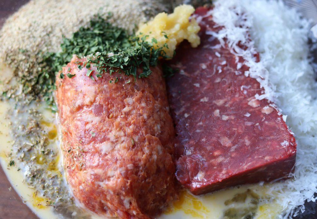 Italian Wedding Soup Meatball Ingredients