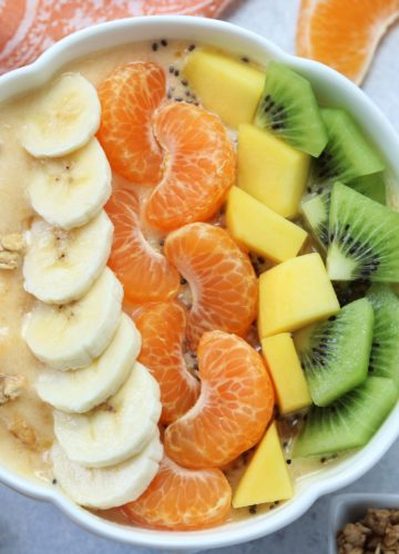 Sumo Citrus Mango Smoothie Bowl - giveitsomethyme.com