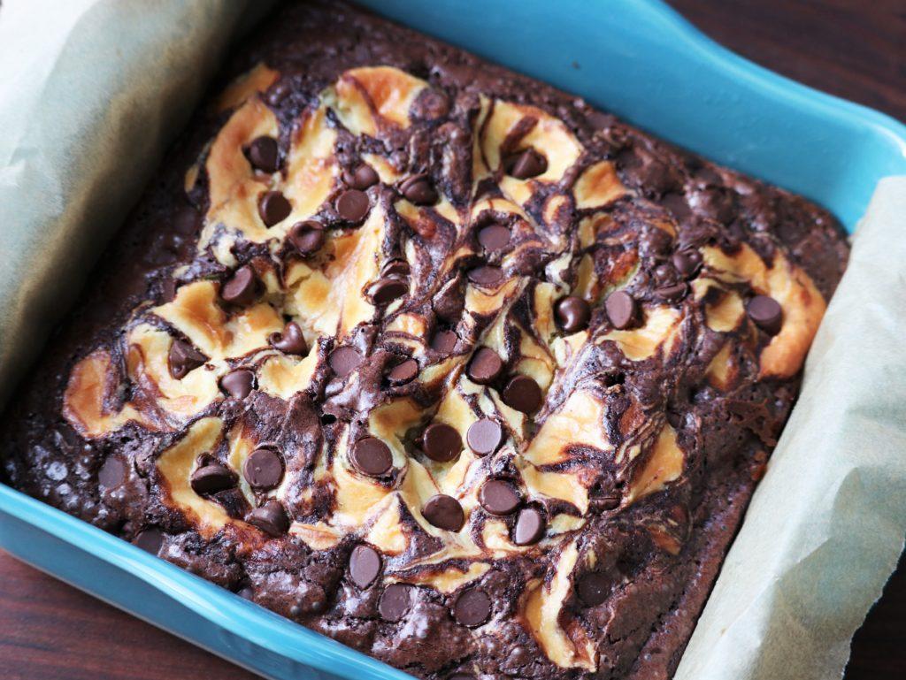 Nutty Irishman Brownies Baked