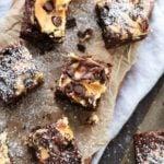 Nutty Irishman Cheesecake Swirled Brownies | Give it Some Thyme
