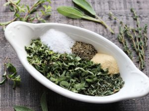 Herb Rub Ingredients