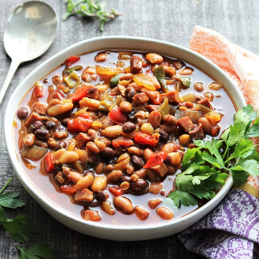 Slow Cooker Soda Baked Beans - giveitsomethyme.com