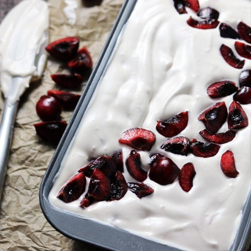 Ice Cream Ready to Freeze.