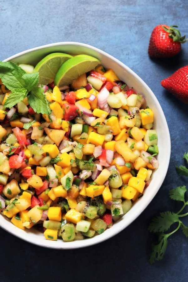 Fresh Fruit Summer Salsa | Give it Some Thyme
