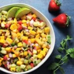 Fresh Fruit Summer Salsa - Give it Some Thyme