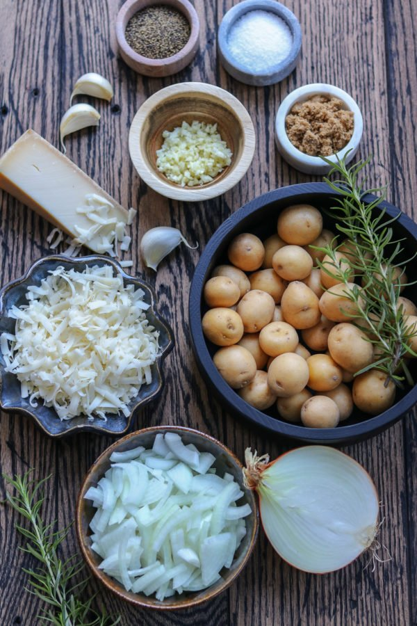 French Onion Baby Potato Ingredients