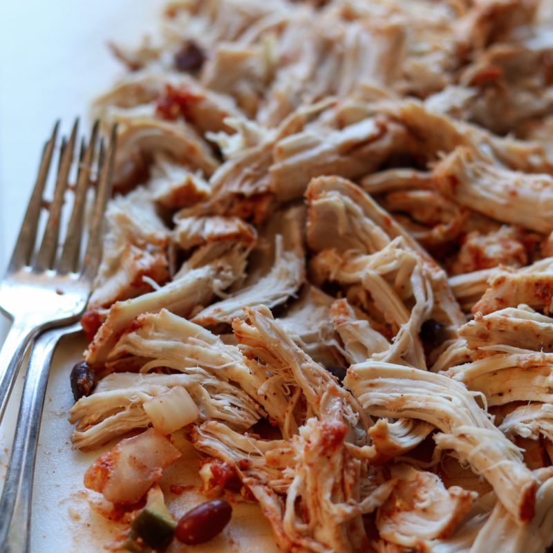 Chicken Shredded for Taco Chili