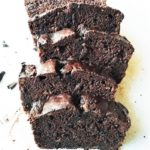 Mocha Chocolate Chip Banana Bread   Give it Some Thyme – a delicious, homemade banana bread recipe with twice the chocolate laced with espresso! #bananabread #chocolatechipbananabread #mochabananabread #giveitsomethyme #bananabreadrecipe #bananabreadmoist #chocolatebananabread #breakfastbread #quickbread