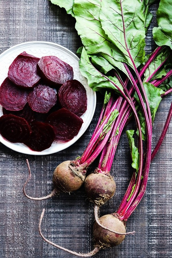 beets raw and roasted