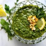 Carrot Top Cashew Pesto